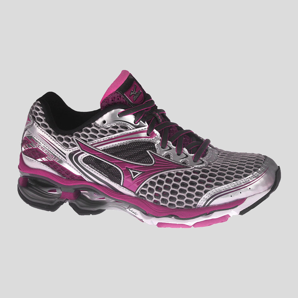 Tênis Mizuno Wave Creation 17 Feminino | Tênis é na Authentic Feet ...