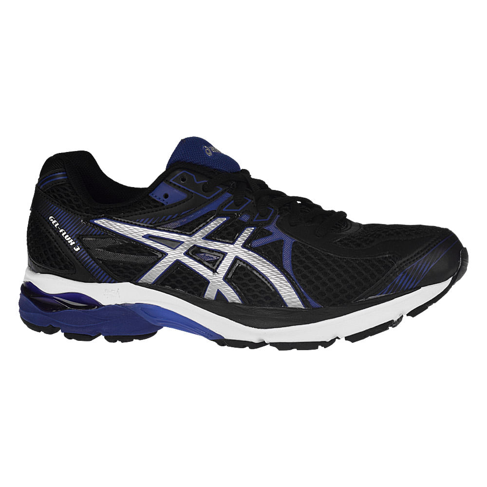 T 234 Nis Asics Gel Flux 3 Masculino T 234 Nis 233 Na Authentic