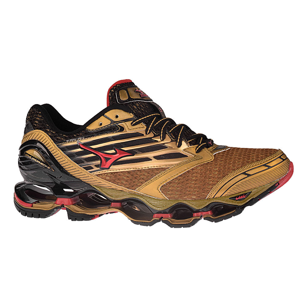 Mizuno Volleyball Shoes Black And Gold