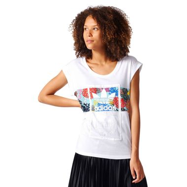 Camiseta-Adidas-Tongue-Label-Roll-Up-Feminina