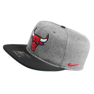 Boné-Nike-NBA-Chicago-Bulls-Arobill-Pro-Heather