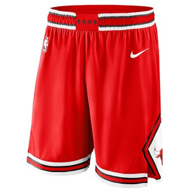 Shorts-Nike-NBA-Chicago-Bulls-Swingman-Road-Masculino-Vermelho