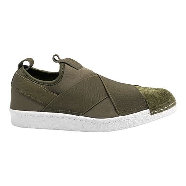 Tenis-adidas-Superstar-Slip-On-Feminino-Verde