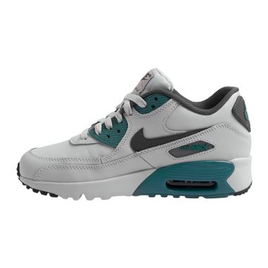Tenis-Nike-Air-Max-90-GS-Leather-Infantil-Cinza-2