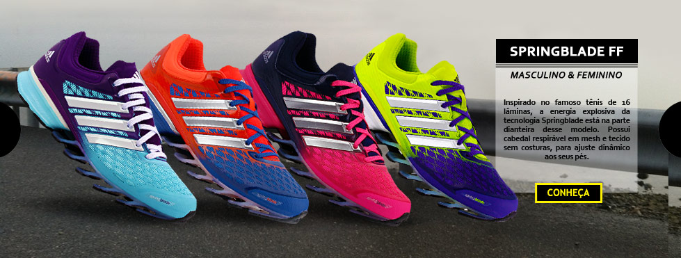 Tenis adidas springblade ff