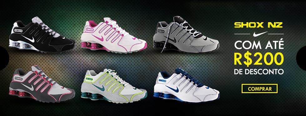 Tênis Nike Shox com Desconto