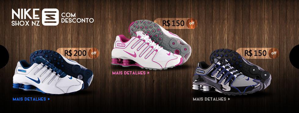Nike Shox com Desconto