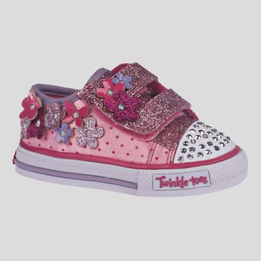 Tenis-Skechers-Twinkle-Toes-Pretty-Blossom-Infantil