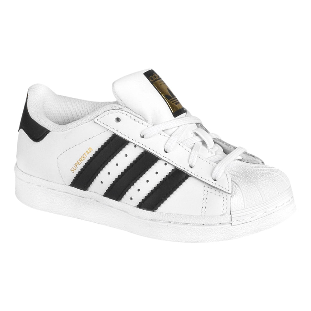 e0bf483c1d9 Tênis Adidas Superstar Foundation El PS Infantil