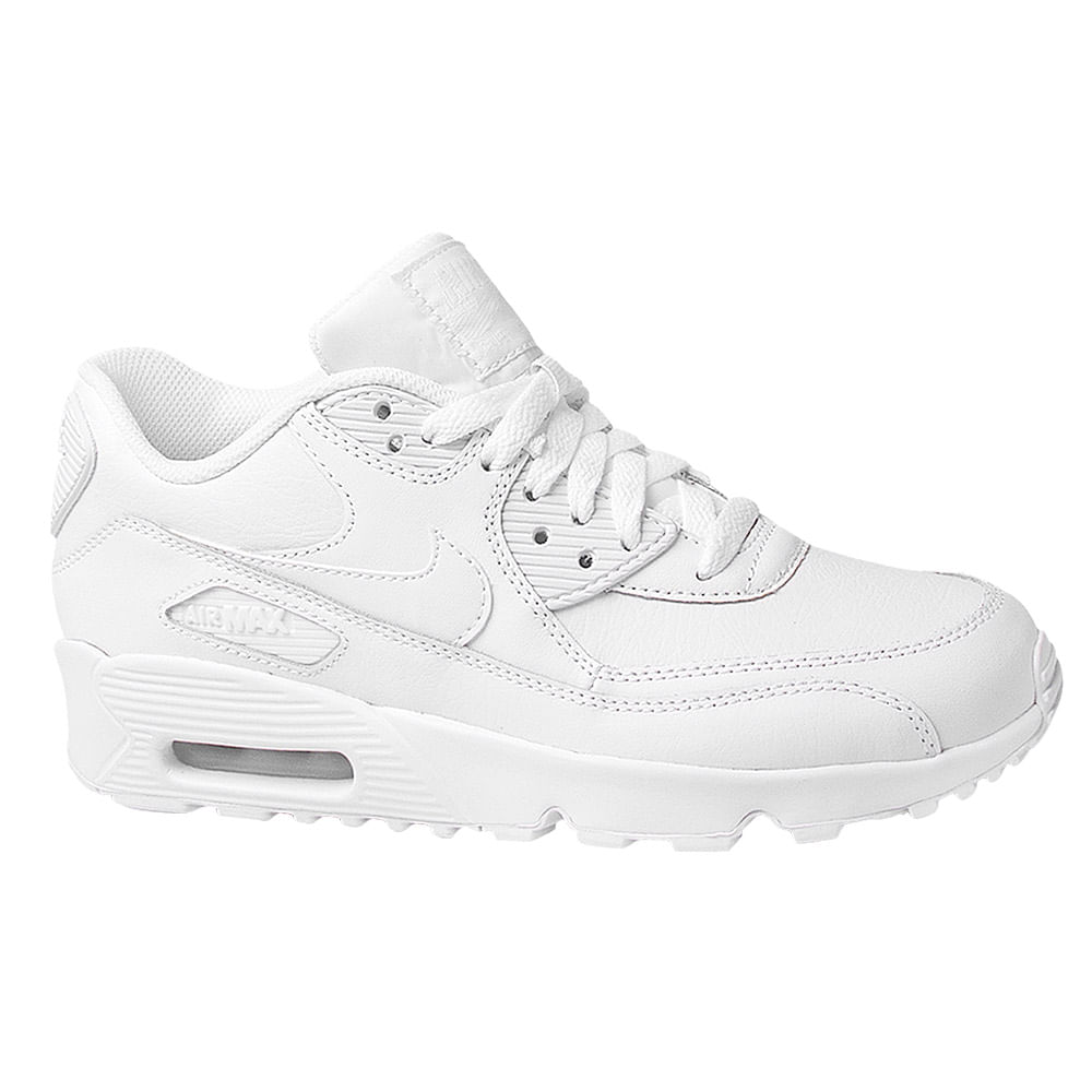7b27926c92d Tênis Nike Air Max 90 GS Leather Infantil