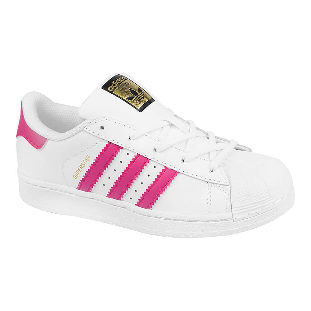 cdb03cad78382 Tênis adidas Superstar Foundation Infantil