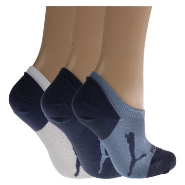 Meia-Puma-Kit-3-Pares-Invisivel-Infantil