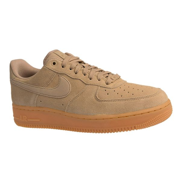 Tenis-Nike-Air-Force-1-07-LV8-Suede-Masculino-Bege