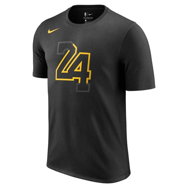 Camiseta-Nike-NBA-Los-Angeles-Lakers-Dry-Masculina-Preto