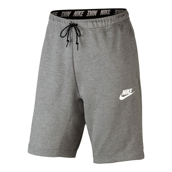 Shorts-Nike-Advance-15-Fleece-Masculino-Cinza