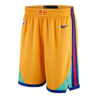 Shorts-Nike-NBA-Golden-State-Warriors-Swingman-Masculino-Amarelo