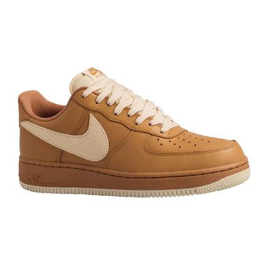 Tenis-Nike-Air-Force-1-07-LV8-NBA-Masculino-Bege
