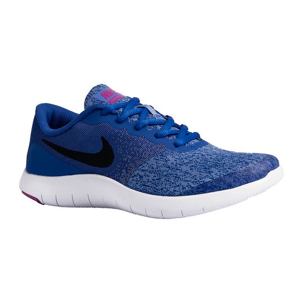 Tenis-Nike-Flex-Contact-GS-Feminino-Azul