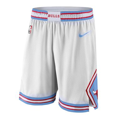 Shorts-Nike-NBA-Chicago-Bulls-Swingman-Masculino-Branco