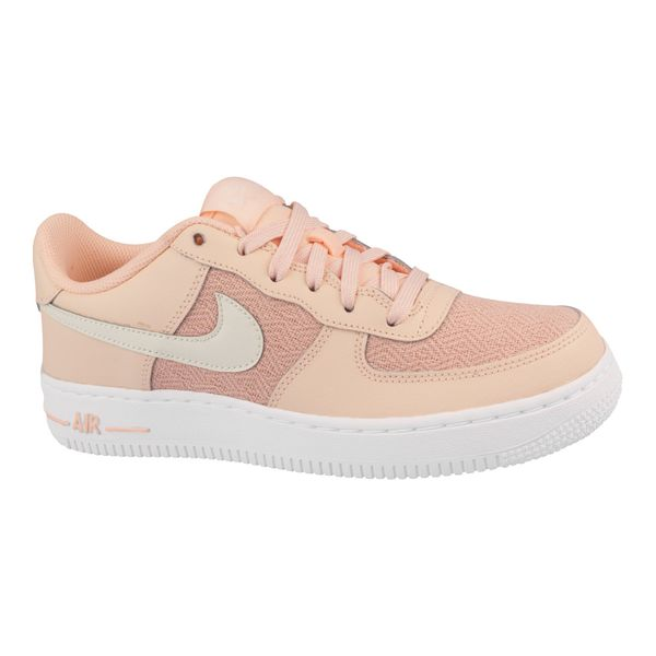 Tenis-Nike-Air-Force-1-LV8-GS-Infantil-Laranja