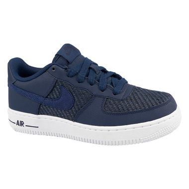 Tenis-Air-Force-1-LV8-GS-Infantil-Azul