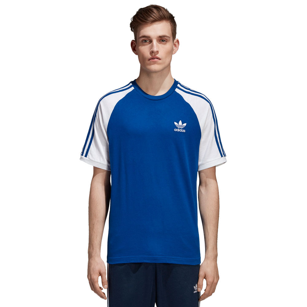 db2fb23fc34 Camiseta adidas 3 Stripes Masculina