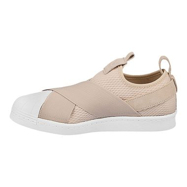 Tenis-adidas-Superstar-Slip-On-Feminino-Bege-2