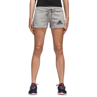 Shorts-adidas-Essentials-Solid-Feminina-Cinza
