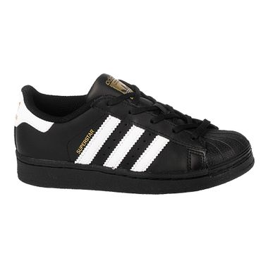 Tenis-adidas-Superstar-Foundation-PS-Infantil-Preto