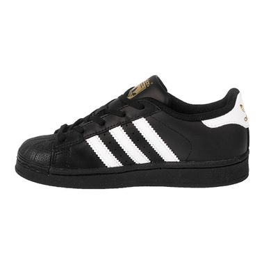 Tenis-adidas-Superstar-Foundation-PS-Infantil-Preto-2