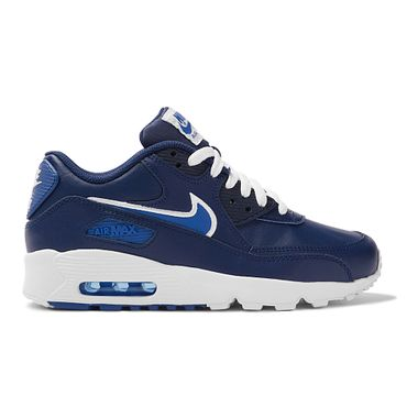 Tenis-Nike-Air-Max-90-Leather-GS-Infantil-Azul