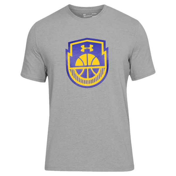 Camiseta-Under-Armour-Basketball-Logo-Masculina-Cinza