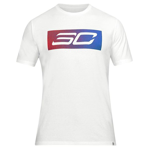 Camiseta-Under-Armour-SC30-Logo-Masculina-Branco
