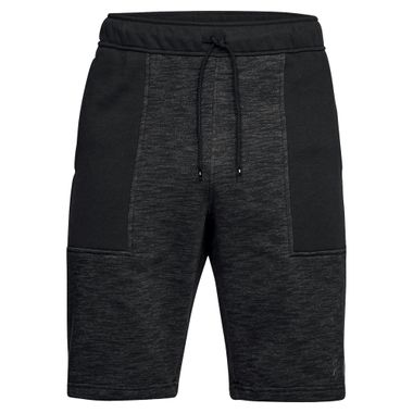 Shorts-Under-Armour-Baseline-Fleece-Masculino-Preto