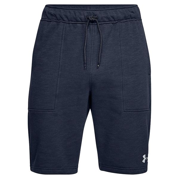 Shorts-Under-Armour-Baseline-Fleece-Masculino-Azul