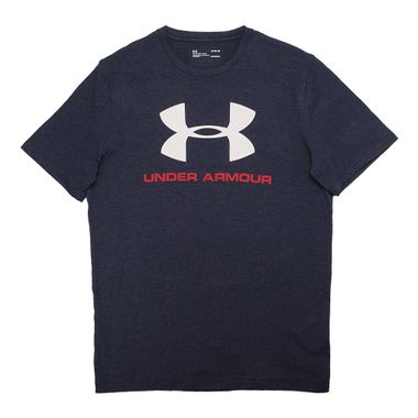 Camiseta-Under-Armour-Sportstyle-Masculina-Azul