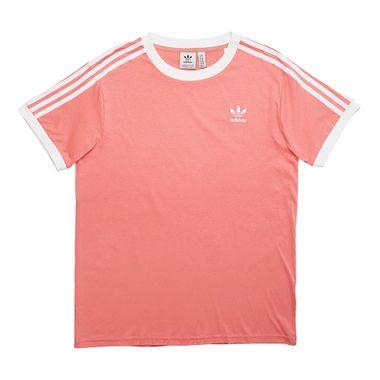 Camiseta-adidas-3-Stripes-Feminina-Rosa