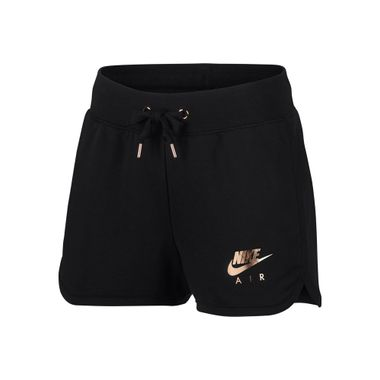 Shorts-Nike-Rally-Metallic-Feminino-Preto