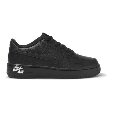 Tenis-Nike-Air-Force-1-LTHR-GS-Infantil-Preto