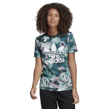 Camiseta-adidas-Originals-Trefoil-Feminina-Multicolor