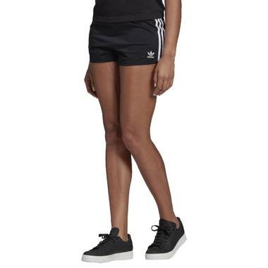 Shorts-adidas-3-Stripes-Feminino-Preto