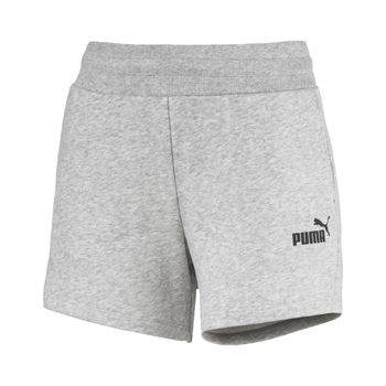 Shorts-Puma-ESS-Sweat-Shorts-Tr-Feminino-Cinza