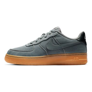 Tenis-Nike-Air-Force-1-Lv8-Style-GS-Infantil-Cinza