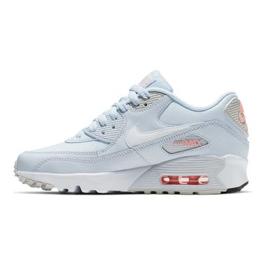 Tenis-Nike-Air-Max-90-GS-Leather-Infantil-Azul
