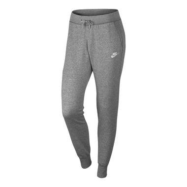 Calca-Nike-Fleece-Feminina-Cinza