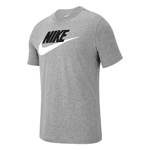 Camiseta-Nike-Icon-Futura-Masculina-Cinza