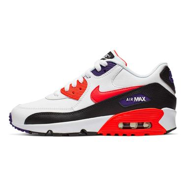 Tenis-Nike-Air-Max-90-GS-Leather-Infantil-Multicolor
