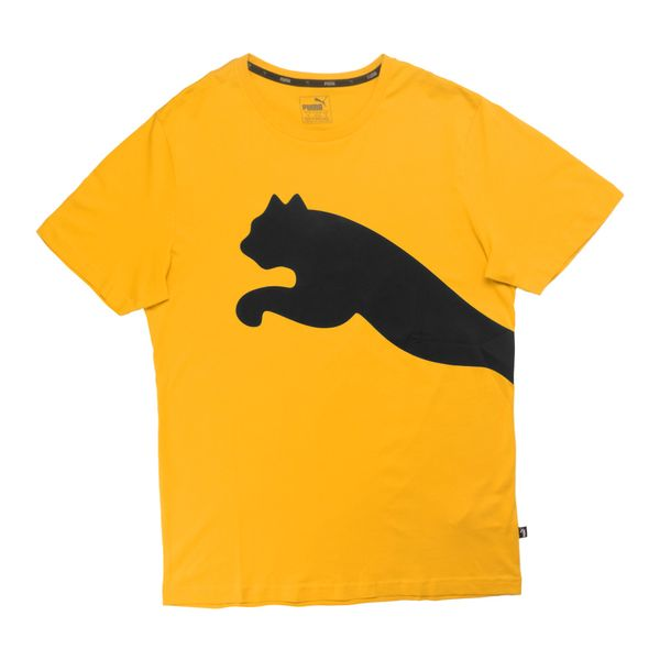 Camiseta-Puma-Big-Logo-Masculina-Amarelo