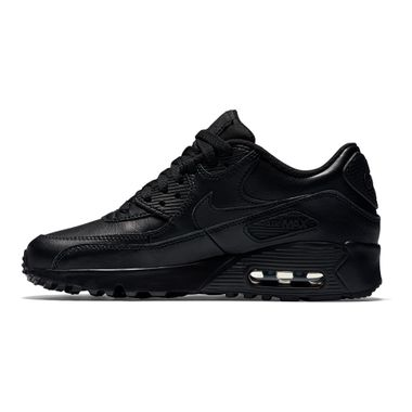 Tenis-Nike-Air-Max-90-GS-Leather-Infantil-Preto
