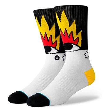 Meia-Stance-Fire-And-Eyes-Multicolor